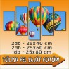 "Poszter - ""Quinary"" - 2db - 25x40cm , 2db - 25x60cm és 1db - 25x80cm"