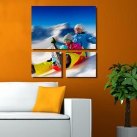 Poszterfotó saját fényképből - Trio Lying - 2db - 35x30cm , 1db - 50x75cm