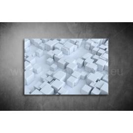 Fehér Kockák Poszter 003