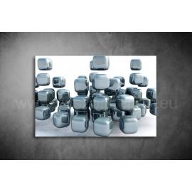 Ezüst Kocka Poszter 006