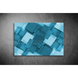 Kék Absztrakt Poszter 009