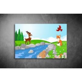 Erdei állatok Poszter 003