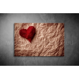 Piros Szív Poszter 002