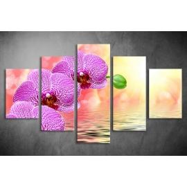Többrészes Virágok poszter (választható formák)