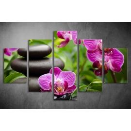 Többrészes Orchidea poszter 009 - (választható formák)