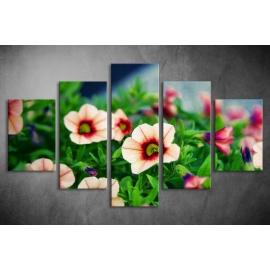 Többrészes Virágok poszter 022 - (választható formák)