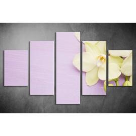 Többrészes Orchidea poszter 028 - (választható formák)