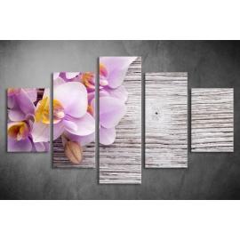 Többrészes Orchidea poszter 029 - (választható formák)