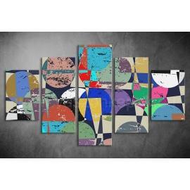 Többrészes Geometria poszter 043 - (választható formák)