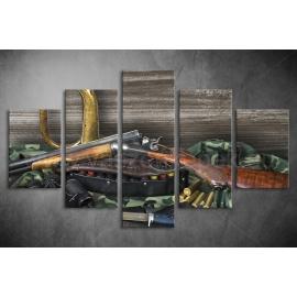 Többrészes Fegyverek poszter 009 - (választható formák)