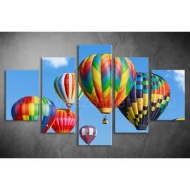 Többrészes Hőlégballon poszter 011 - (választható formák)