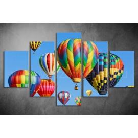 Többrészes Hőlégballon poszter 012 - (választható formák)