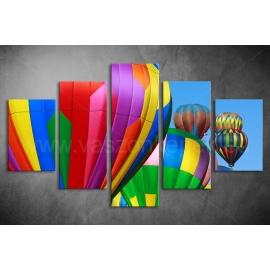 Többrészes Hőlégballon poszter 013 - (választható formák)