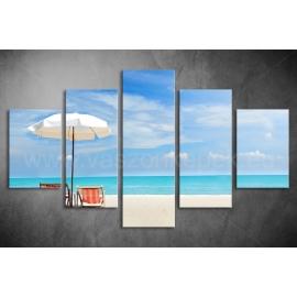 Többrészes Beach poszter 047 - (választható formák)