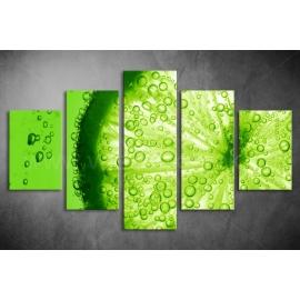 Többrészes Lime poszter 012 - (választható formák)