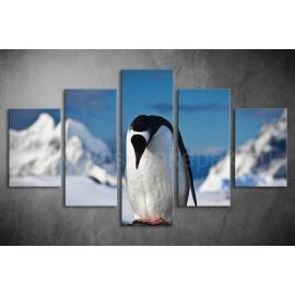 Többrészes Pingvines poszter 062 - (választható formák)