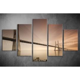Többrészes Híd poszter 002 - (választható formák)