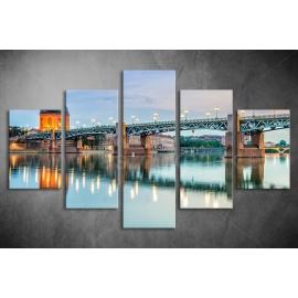 Többrészes Híd poszter 004 - (választható formák)