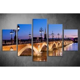 Többrészes Híd poszter 006 - (választható formák)