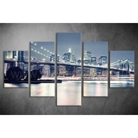 Többrészes Brooklyn híd poszter 010 - (választható formák)