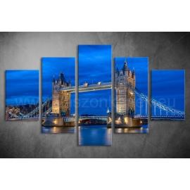 Többrészes Tower Bridge poszter 017 - (választható formák)