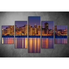 Többrészes Városkép poszter 022 - (választható formák)