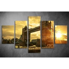 Többrészes Tower Bridge poszter 029 - (választható formák)