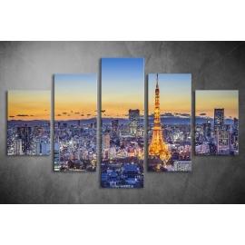 Többrészes Párizs poszter 009 - (választható formák)
