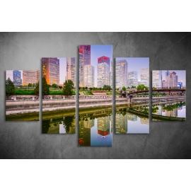 Többrészes Városkép poszter 011 - (választható formák)
