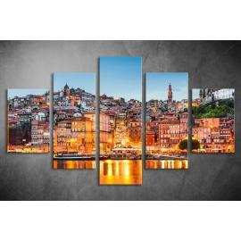 Többrészes Városkép poszter 012 - (választható formák)