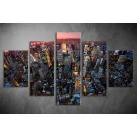 Többrészes Manhattan poszter 035 - (választható formák)