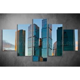 Többrészes Toronyházak poszter 051 - (választható formák)