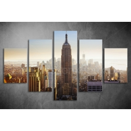 Többrészes Empire State Building poszter 054 - (választható formák)