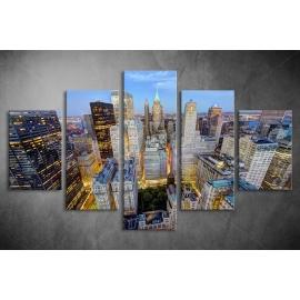 Többrészes Manhattan poszter 055 - (választható formák)