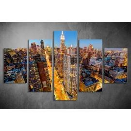 Többrészes New York poszter 057 - (választható formák)