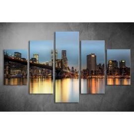 Többrészes New York poszter 059 - (választható formák)