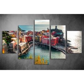 Többrészes Városkép poszter 061 - (választható formák)