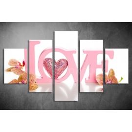 Többrészes Love poszter 008 - (választható formák)