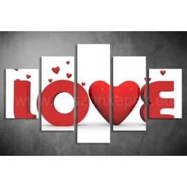 Többrészes Love poszter 009 - (választható formák)