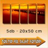 "Poszter - ""Quintet"" - 5db - 20x50cm"