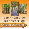 """Poszter - """"Trio"""" - 2db - 40x50cm és 1db - 40x75cm"""